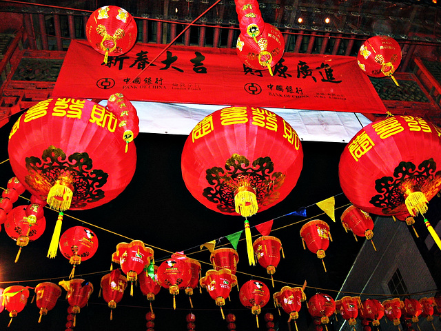 Gerard Street celebrates Chinese New Year