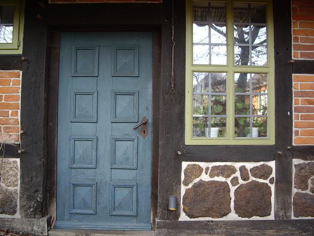 Detail:Fachwerhaus in Oegenbostel