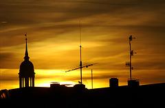 Michel in der Morgensonne