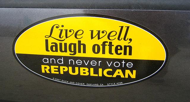 Never Vote Republican (9134)