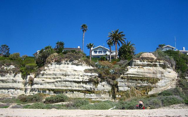 Cliffs on San Clemente Beach (9197)