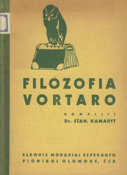 Kamaryt, Dr. S.: Filozofia vortaro. Olomouc 1934.