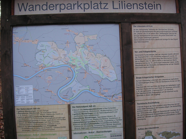 Der Lilienstein - Februar 2008