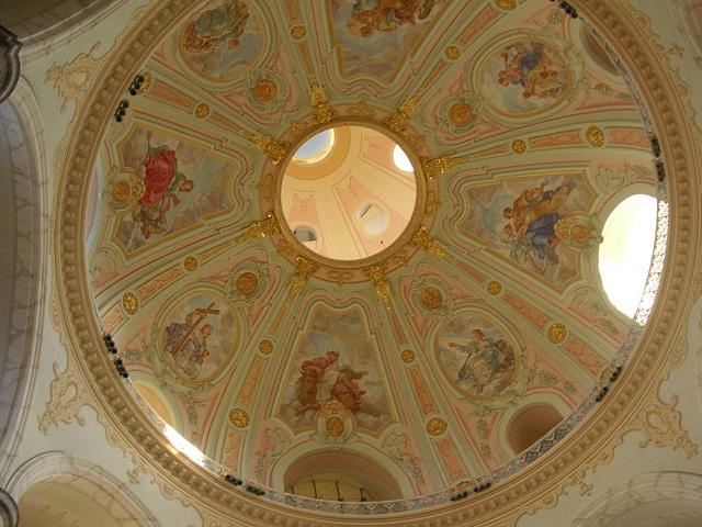 Kuppelbemalung der Frauenkirche