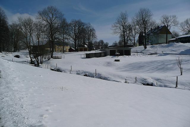 Blick vom Geburtshaus