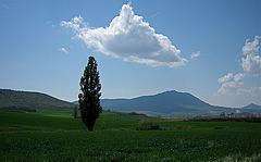 Chemin de Compostelle : pilgrim cloud