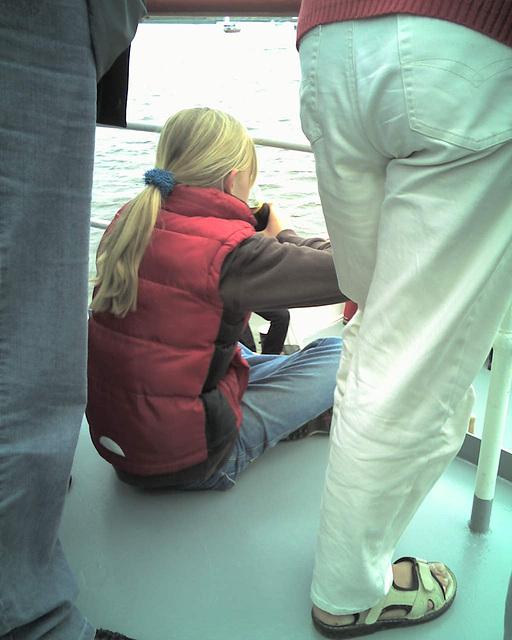 Auf dem Raddampfer FREYA beim Hamburger Hafengeburtstag / 070513 172111