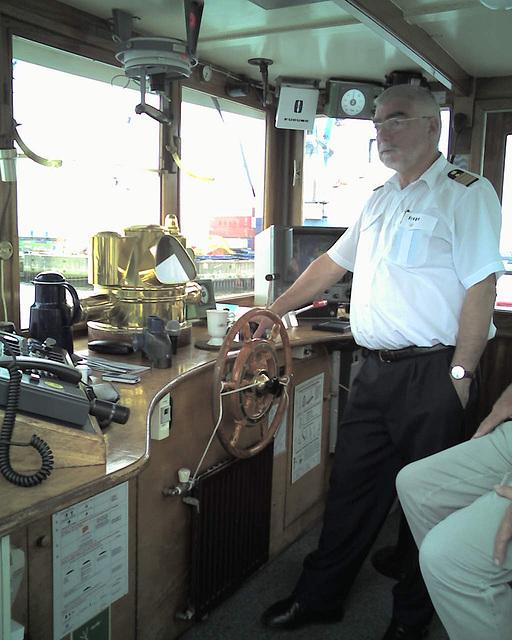 Auf dem Raddampfer FREYA beim Hamburger Hafengeburtstag / 070513 163147