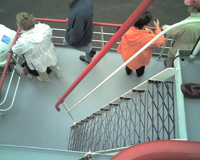 Auf dem Raddampfer FREYA beim Hamburger Hafengeburtstag / 070513 164345
