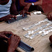 black hands - white domino