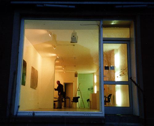 bob5 Kunstraum in Frankfurt Nordend um das Jahr 2001