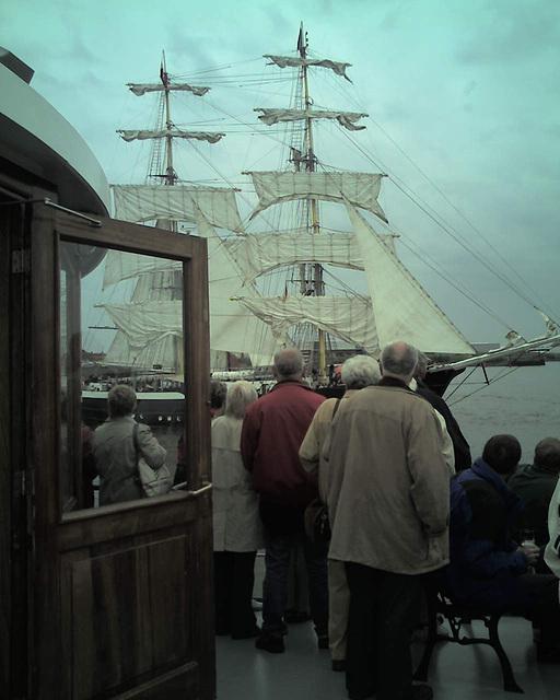 Auf dem Raddampfer FREYA beim Hamburger Hafengeburtstag / 070513 173535