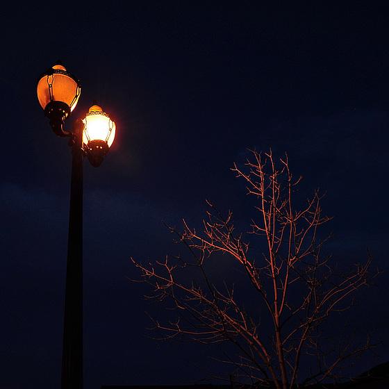 Es wird schnell dunkel hier!
