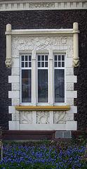 Fenster eines Jugendstilhauses in Bendorf