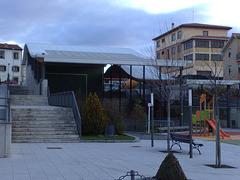 Frontón en Mutilva Alta (Navarra).
