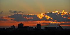 Sonnenuntertag