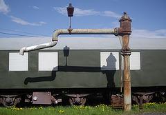 Wasserversorgung für Lokomotiven in Salzhemmendorf