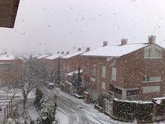 Nieva en Mutilva Alta(Navarra)