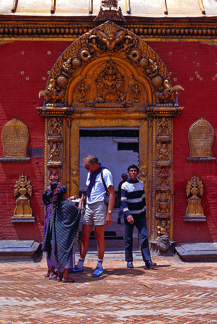 Golden Gate in Bhaktapur