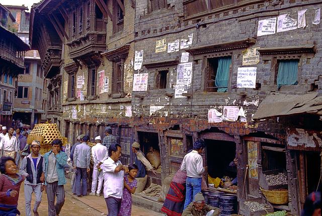 Street life in Bhaktapur