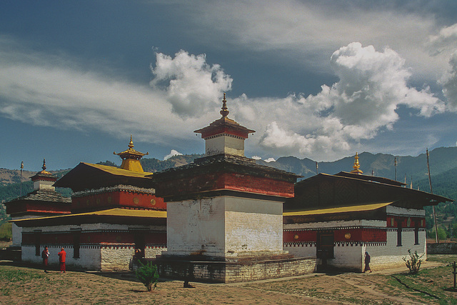 Jampey Lhakhang monastery complex