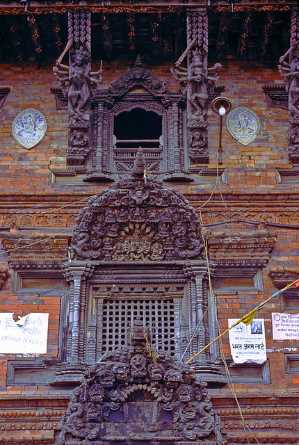 Newa carving art in Kathmandu