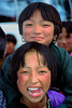 Two young Bhutanese ladies