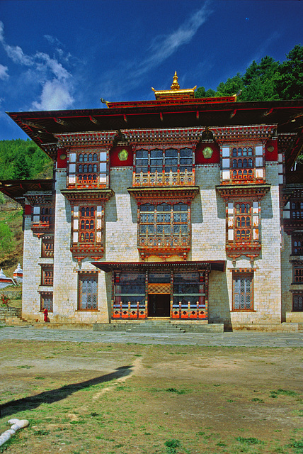 Kurjey Lhakhang middle temple