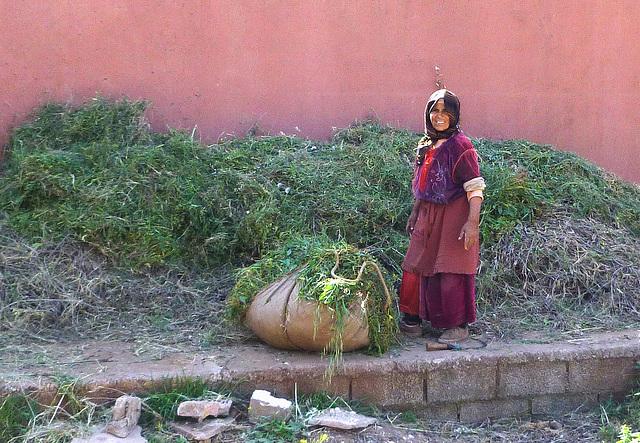 Moroccan Villager