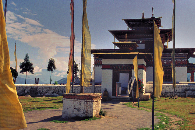 Zangdopelri Temple in Kanglung