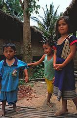 Children in Ban Xang Hai