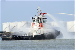 exercice incendie VB STE ADRESSE 02 (Le Havre)