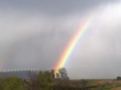 Arco Iris en la sierra del Perdón