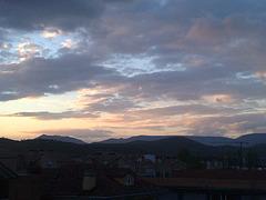 Nubes 2 en el valle deAranguren