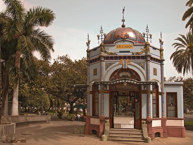 Kiosco Parque San Telmo