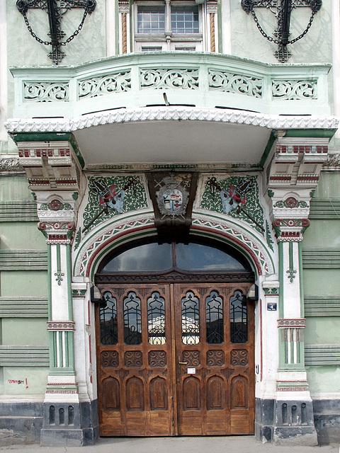 Vicariatul Sarb-Ortodox - Timisoara - detaliu