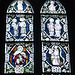 Fenster aus dem Jahre 1411 jetzt in St. Viti Uelzen