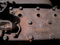Truck Engine Block (0641)
