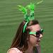 Baseball Fan On St. Patrick's Day (1113)