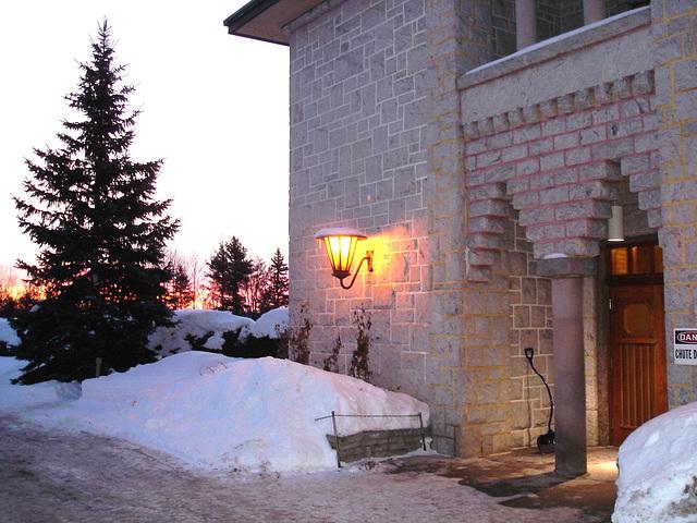 Abbaye St-Benoit-du-lac  /   St-Benoit-du-lac  Abbey -  Quebec, CANADA  -  7 février 2009.