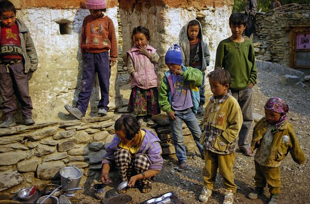 Kids in Tsele