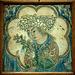 Art Safavid : Céramique au jeune homme