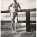 Schwimmer in Dreiecksbadehose 1933