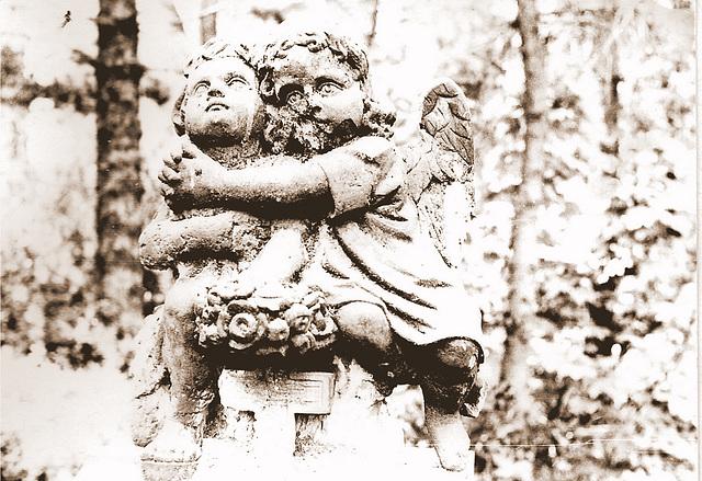 Friedhofsengel in Altenburg