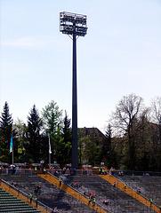 Flutlicht Rosenaustadion Augsburg