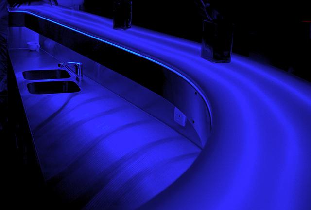 Blue Bar Desk