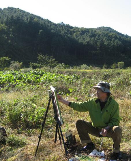 pentrado de la naturo=painting the nature/허성-서울사생회_Seoul_100928