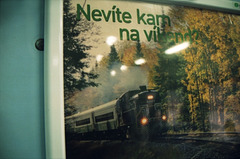 Ex-8223 On Poster In Prague, CZ, 2007