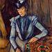 La Dame en bleu, œuvre de Paul Cézanne