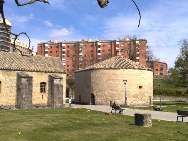 Pamplona: horno de la Ciudadela.
